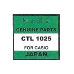 Original Casio Capacitor Battery CTL1025