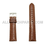 Brown Genuine Lizard Leather Band (16mm-22mm)
