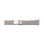 Metal Watch Band Silver Color (16mm-22mm)