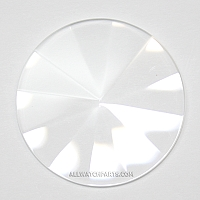 1.0mm Pyramid Crystal (17.0mm-34.0mm / 0.5mm Increment)