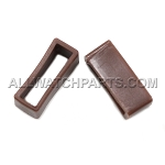 Brown PVC Strap Keeper Assortment 16pcs (16mm-30mm)