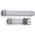 14mm Casio BGA101-8B Clear Grey Resin Band