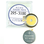 Original Citizen Capacitor Battery 295-31 for Eco-Drive