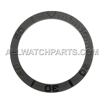 Bezel Insert To Fit Rolex Submariner - 40.0mm All Black Ceramic