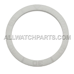 Bezel Insert To Fit Rolex Submariner - 38.0mm All White Ceramic