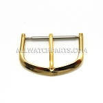 Gold Watch Strap Buckles 12pcs/pk (6mm-22mm)