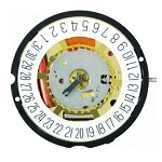 Harley Ronda 715 Date at 6 Swiss Made Watch Movement