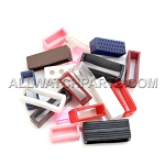 Mixed Colors PVC Strap Keeper Assortment 30pcs