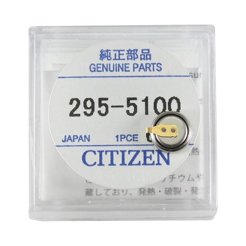 Original Citizen Capacitor Battery 295-51 for Eco-Drive
