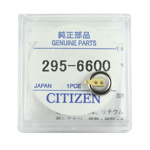 Original Citizen Capacitor Battery 295-66 for Eco-Drive