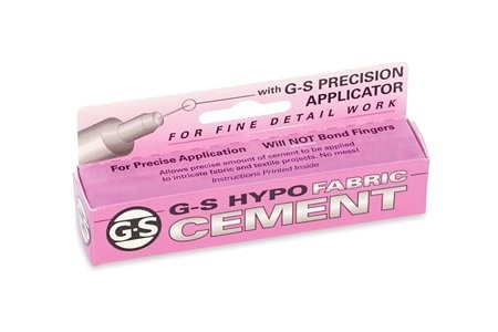 G-S Hypo Fabric Tube Crystal Cement