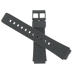 18mm Casio AQ50W Black Watch Band