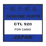 Original Casio Capacitor Battery CTL920