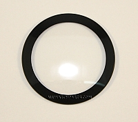 1.2mm Double Dome Black Ring Crystal  (35.5mm-40.0mm / 0.5mm Increment)