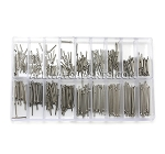 0.8MM Cotter Pins Assortment 360pcs (6mm-23mm / 1mm increments)