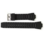 20mm Casio EFR519 Black Resin Band