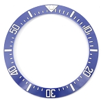 Bezel Insert To Fit Rolex Sea-Dweller / Deep Sea- 40.0mm Blue / White Ceramic