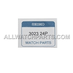 Original SEIKO Capacitor Battery 3023.24P