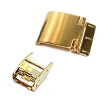 1.75mm Sliding Clasp - Gold (Yellow)