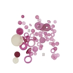 Watch Center Wheel Jewel Assortment 100pcs