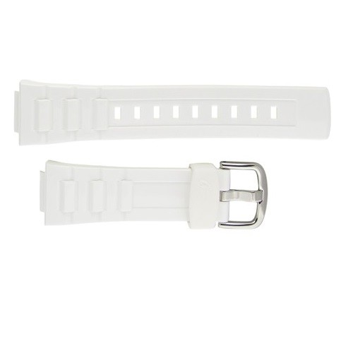 14mm Casio BG3000J White Resin Band
