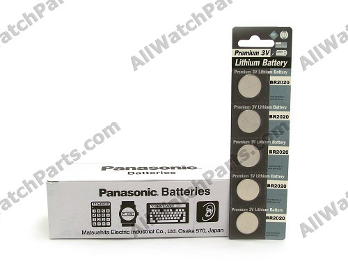 Panasonic BR2020 Lithium Battery 3V