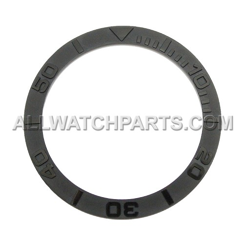 Bezel Insert To Fit Rolex Submariner - 38.0mm All Black Ceramic