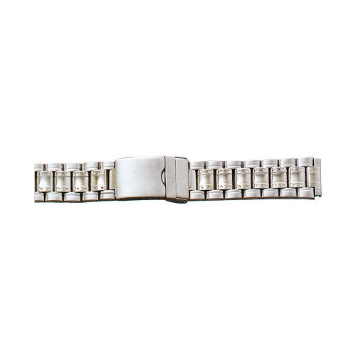 Metal Watch Band Silver Color (18mm)