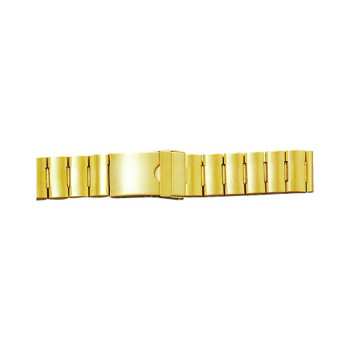 Metal Watch Band Gold Color (20mm)
