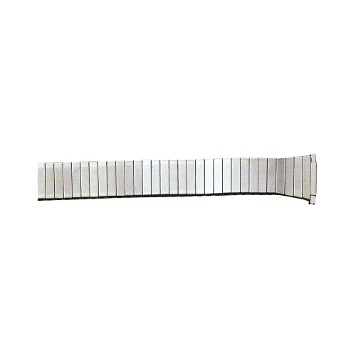 Expansion Metal Watch Band Silver Color (16mm-22mm)