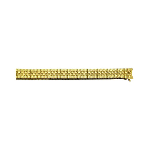 Expansion Metal Watch Band Gold Color (12mm)