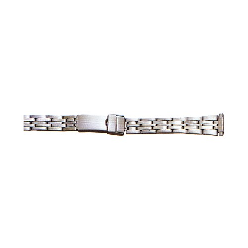 Ladies Metal Watch Band Silver Color (10mm-14mm)