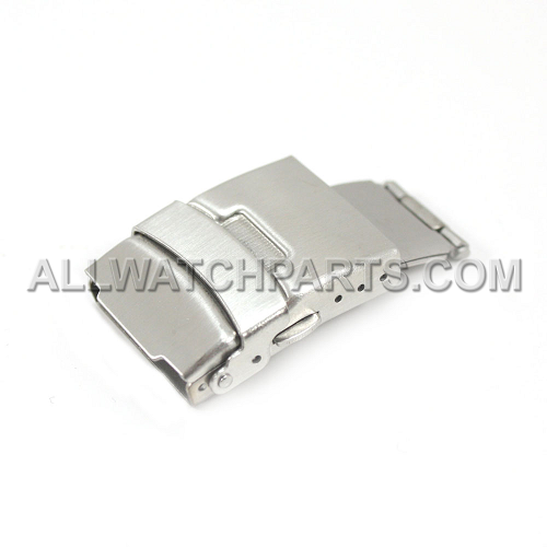 Tri-Fold Push Button Clasp with Safety Latch (14mm-24mm)