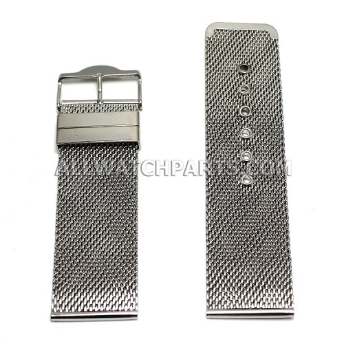 Extra Large Stainless Steel Mesh Band (28mm)