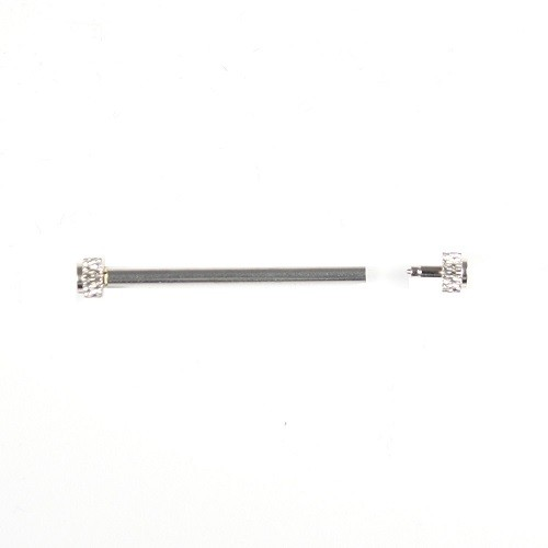 Extra Large 1.2mm X 24mm Stainless Pressure Lug