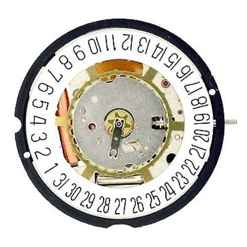 Harley Ronda 715 Date at 6 Watch Movement